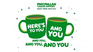 Image of the Macmillan Coffee Morning poster.