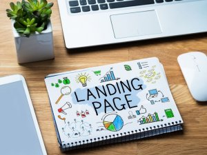 landing page notes
